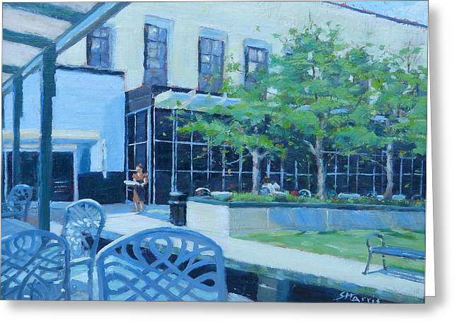 Frist Center Greeting Cards - Here Comes Lunch Greeting Card by Sandra Harris