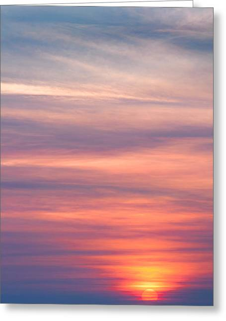 Here Comes The Sun Greeting Card by Bill Wakeley