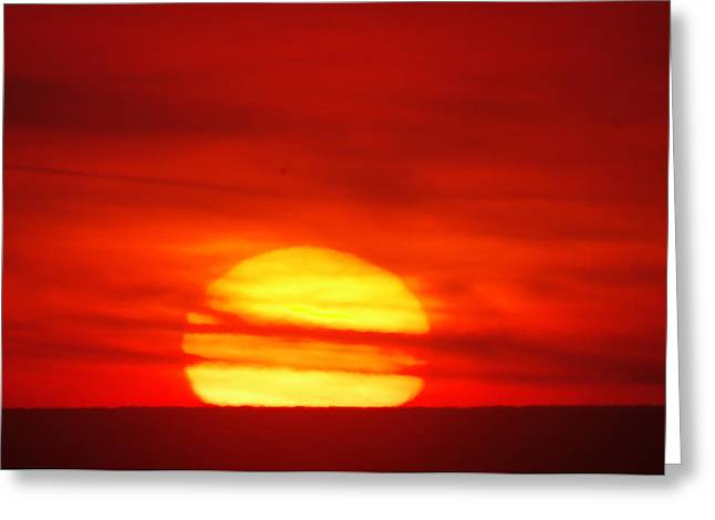 Morn Greeting Cards - Here Comes The Sun Greeting Card by Jeff  Swan