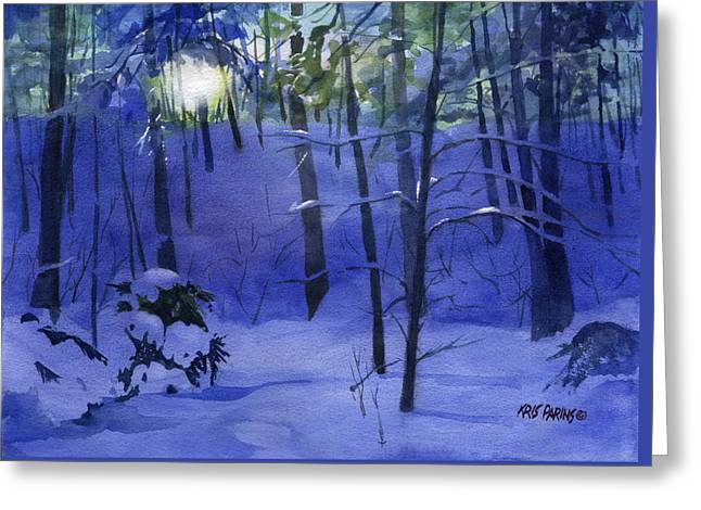 Snowbound Greeting Cards - Here Comes the Sun Greeting Card by Kris Parins