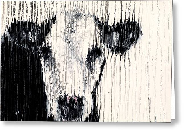 Utter Greeting Cards - Hereford Greeting Card by Scott Lindner
