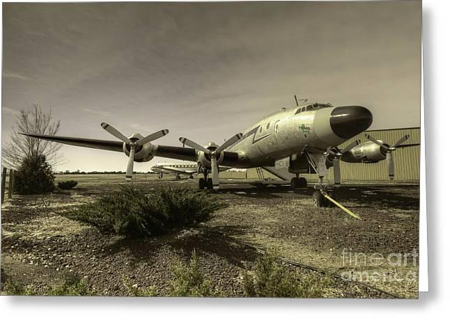 Lockheed Photographs Greeting Cards - Heritage Flight  Greeting Card by Rob Hawkins