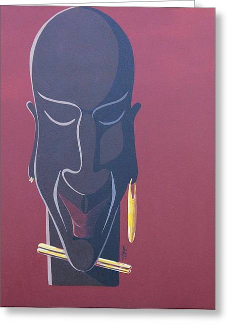 African Inspired Art Greeting Cards - Heritage Greeting Card by Timothy Frink