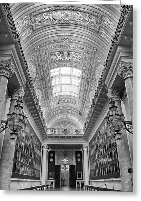 Top Seller Greeting Cards - Hermitage Museum Greeting Card by Tin Lung Chao