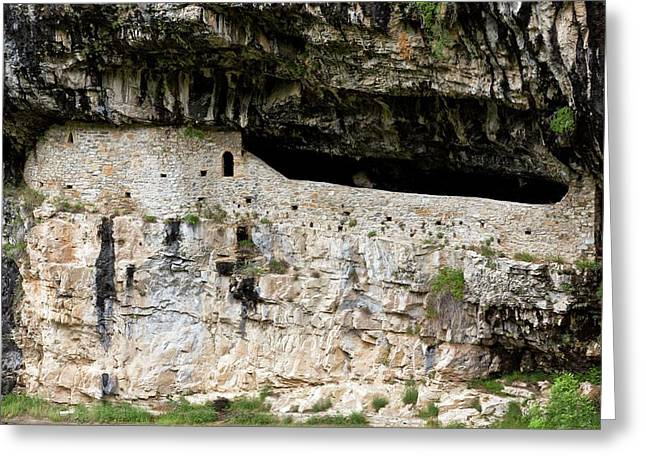Hermitage Of San Urbez Greeting Card by Bob Gibbons