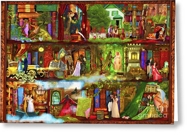Casablanca Greeting Cards - Heroes and Heroines Greeting Card by Aimee Stewart