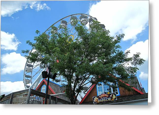 Pa Greeting Cards - Hershey Park - 121243 Greeting Card by DC Photographer