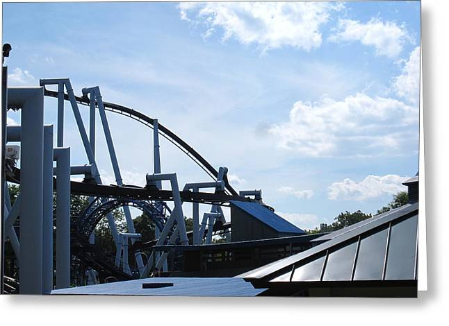 Factory Greeting Cards - Hershey Park - 121248 Greeting Card by DC Photographer