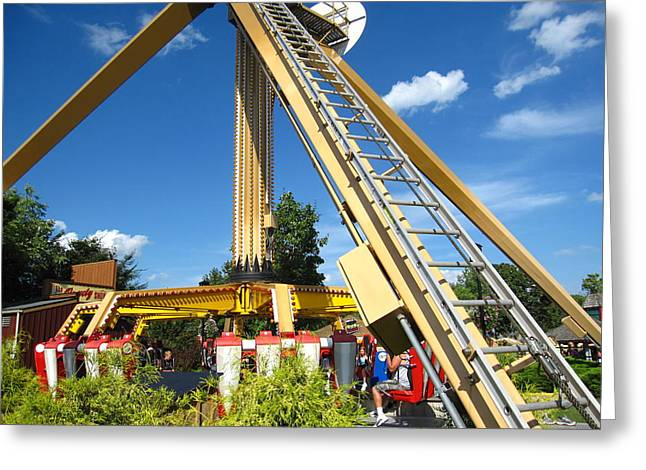 Hershey Park - 121251 Greeting Card by DC Photographer