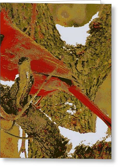 Indiana Winters Digital Art Greeting Cards - Hes a Card Greeting Card by Tg Devore