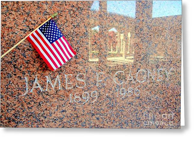 James Cagney Photographs Greeting Cards - Hes A Yankee Doodle Dandy Greeting Card by Ed Weidman