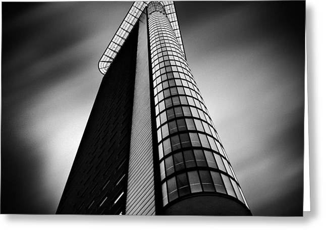 Highrise. Greeting Cards - Het Strijkijzer Greeting Card by Dave Bowman