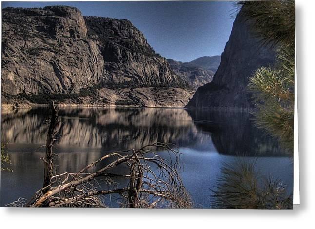 Hetch Hetchy Yosemite National Park Greeting Card by Jane Linders