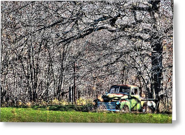 Classic Truck Greeting Cards - Heyday Greeting Card by Thomas Danilovich