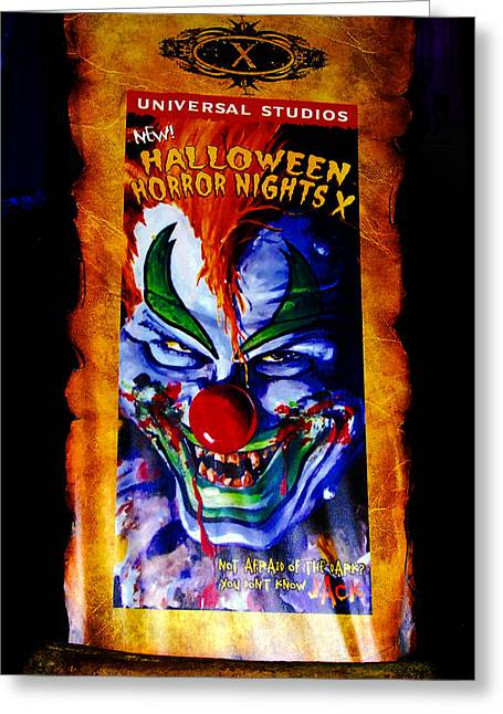 Florida House Greeting Cards - HHN 10 Banner Greeting Card by David Lee Thompson