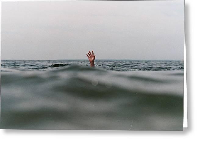 Ocean Art Photos Greeting Cards - Hi Greeting Card by Tatiana Yurochkina