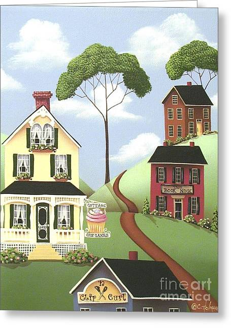 Catherine Holman Greeting Cards - Hickory Grove Greeting Card by Catherine Holman