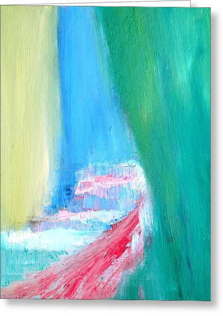 Cavern Paintings Greeting Cards - Hidden Greeting Card by Fabrizio Cassetta