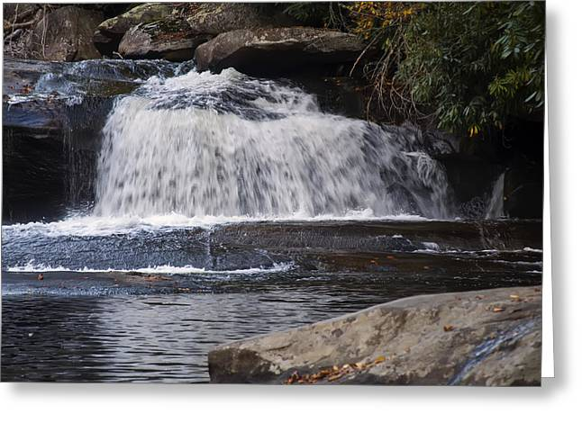 Pictures Of Horses Greeting Cards - Hidden Fall On The Horse Pasture River 3 Greeting Card by Chris Flees
