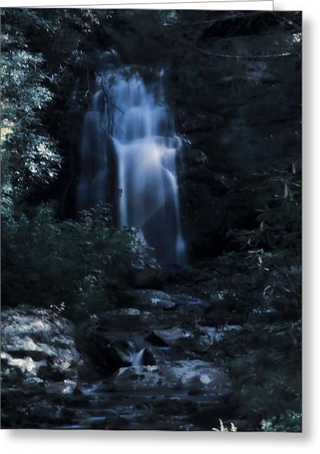 Gatlinburg Tennessee Greeting Cards - Hidden Falls Along The Journey Greeting Card by Dan Sproul