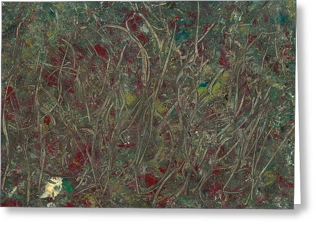 Stellar Paintings Greeting Cards - Hidden in the Reeds Greeting Card by Anonymous