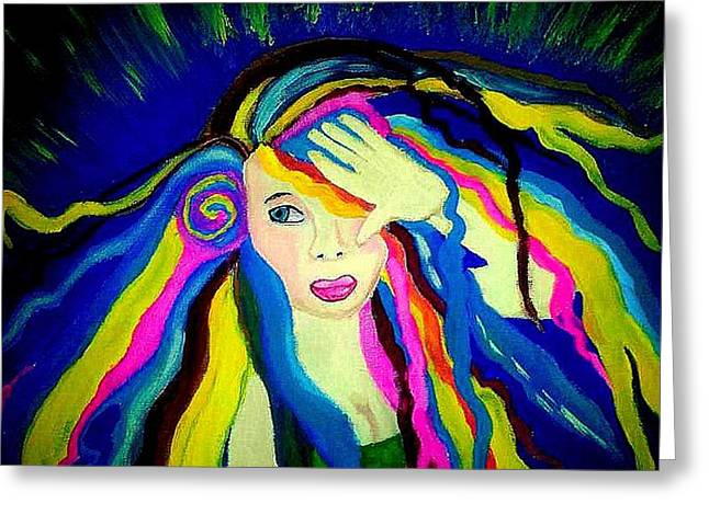 Empowerment Greeting Cards - Hidden Light Greeting Card by Jusie Marie