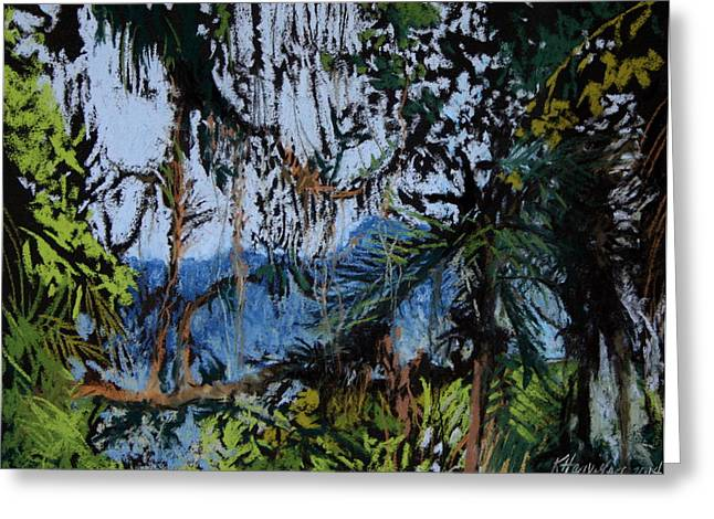 """""""jungle Vines"""" Greeting Cards - Hidden Morumbi Greeting Card by Kitty Harvill"""