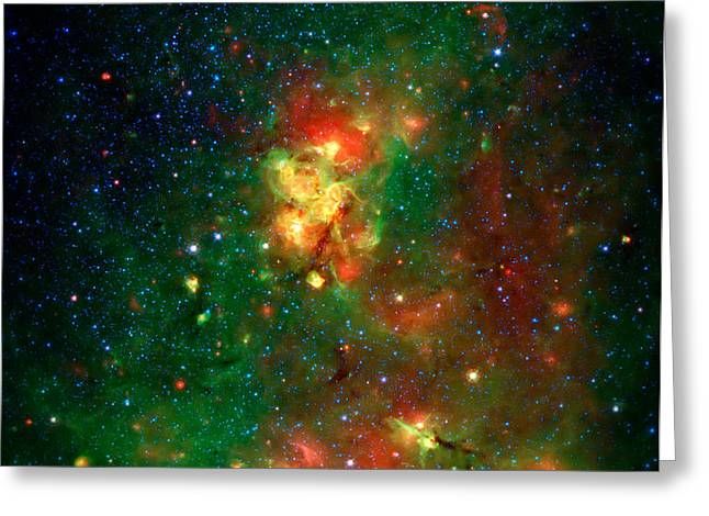 Hidden Nebula 2 Greeting Card by The  Vault - Jennifer Rondinelli Reilly