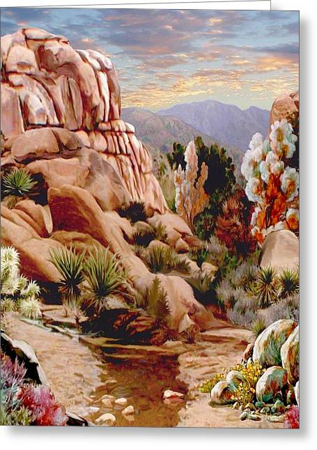 This Is It. Greeting Cards - Hidden Valley Trail Greeting Card by Ronald Chambers