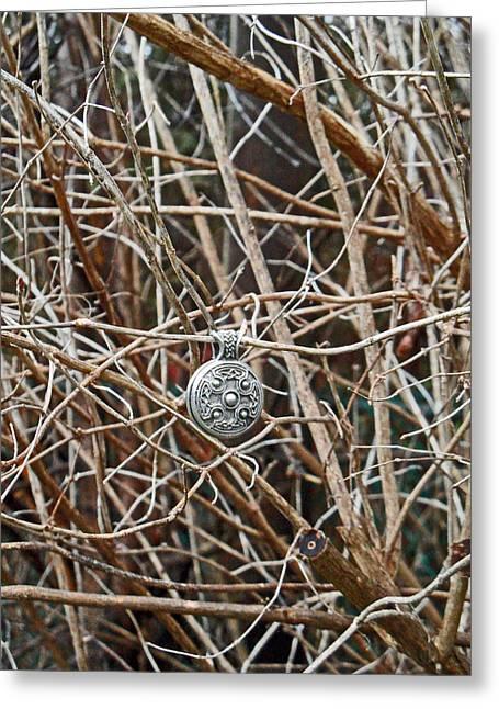 Within A Tree Greeting Cards - Hidden Within Greeting Card by Cyryn Fyrcyd