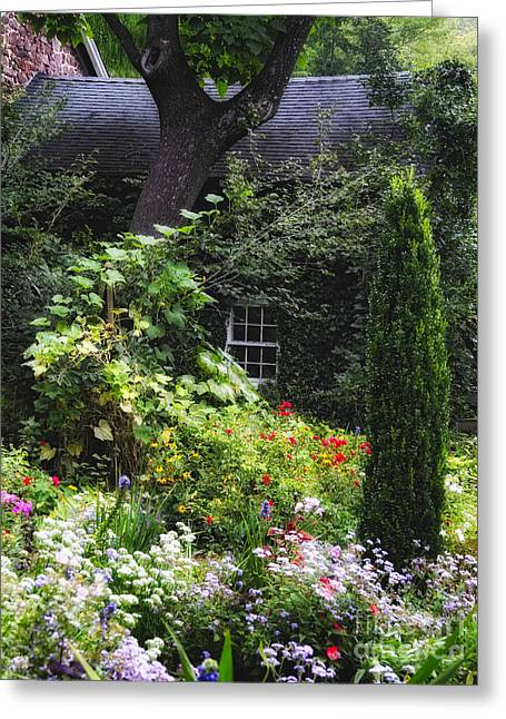 Hide Away Dream House Greeting Card by George Oze