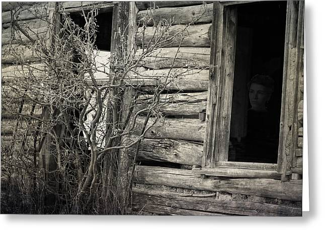 Old Barns Greeting Cards - Hiding Among The Years  Greeting Card by Jerry Cordeiro