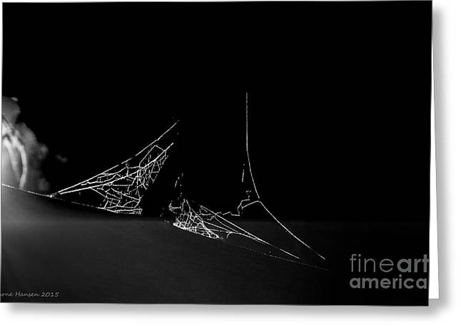 Spiderweb Art Greeting Cards - Higgs Boson Greeting Card by Arne Hansen