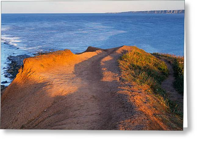 Briggs Greeting Cards - High Angle View Of The Sea From A Greeting Card by Panoramic Images
