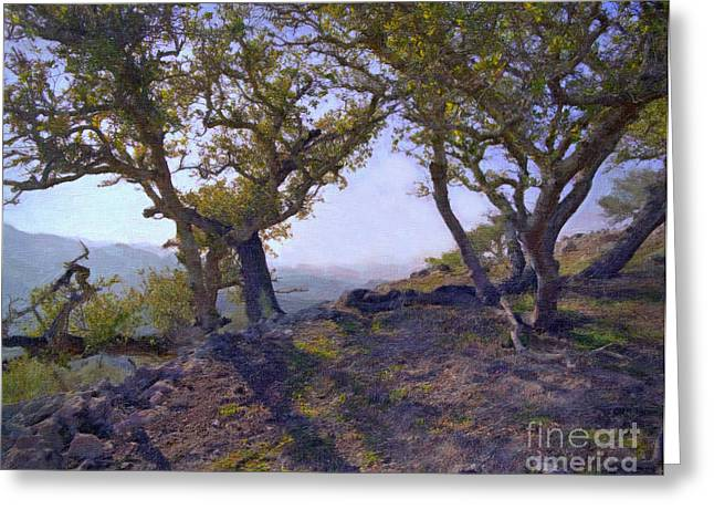 High Top Greeting Cards - High Atop Price Canyon Greeting Card by Frank Bez