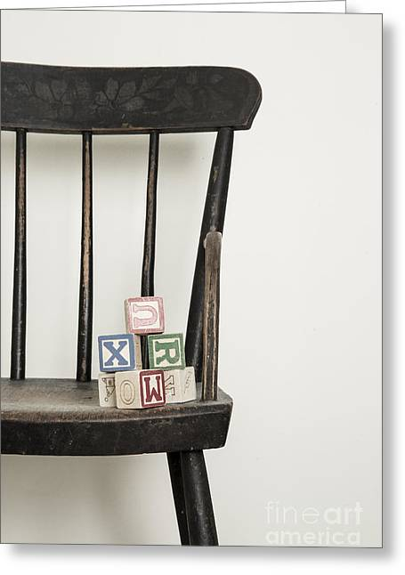 High Chair Greeting Card by Edward Fielding