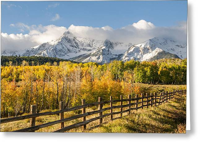 High Country Greeting Cards - High Country Greeting Card by Aaron Spong