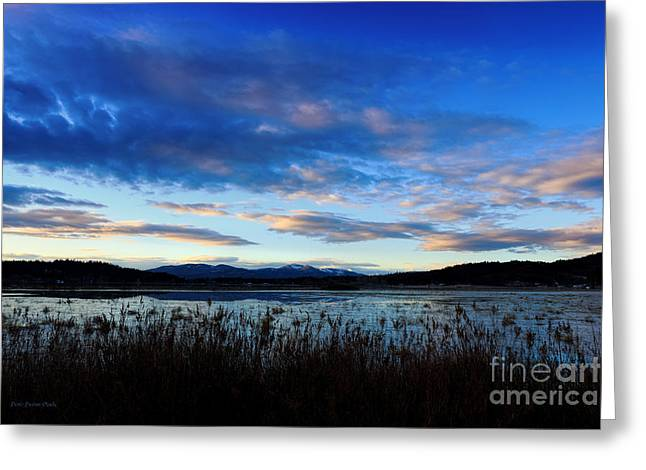 © Beve Brown-clark Greeting Cards - High Country Morning Greeting Card by Reflective Moments  Photography and Digital Art Images