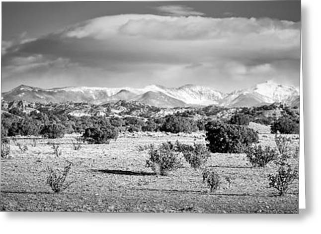 Recently Sold -  - Geology Photographs Greeting Cards - High Desert Plains Landscape Greeting Card by Panoramic Images
