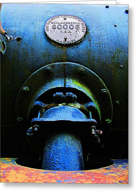 Industrial Pyrography Greeting Cards - High Pressure Greeting Card by David Walker