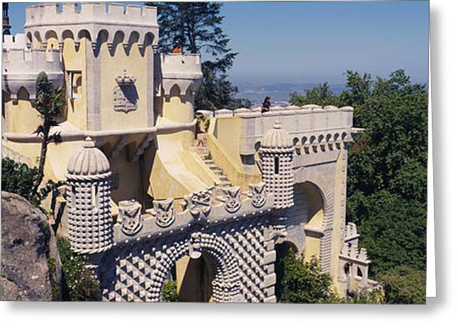 High Section View Of A Building, Pena Greeting Card by Panoramic Images