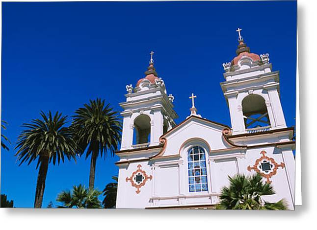 Silicon Greeting Cards - High Section View Of A Cathedral Greeting Card by Panoramic Images