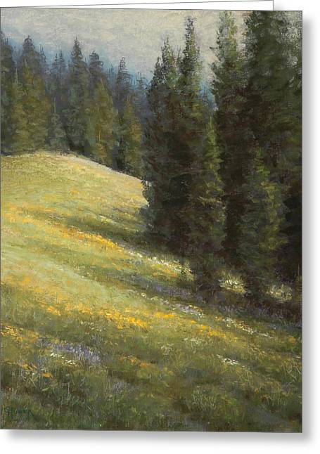 July Pastels Greeting Cards - High Summer Greeting Card by Gary Huber