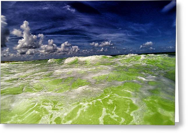 My Ocean Greeting Cards - High Tide Greeting Card by Kevin Cable