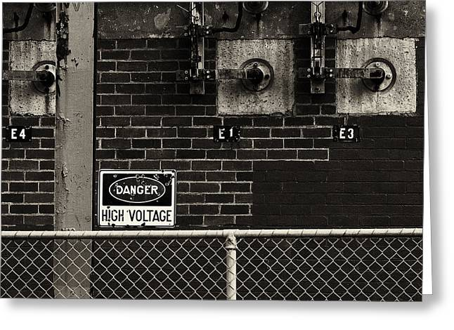 High Voltage Greeting Cards - High Voltage Greeting Card by Tim Nichols