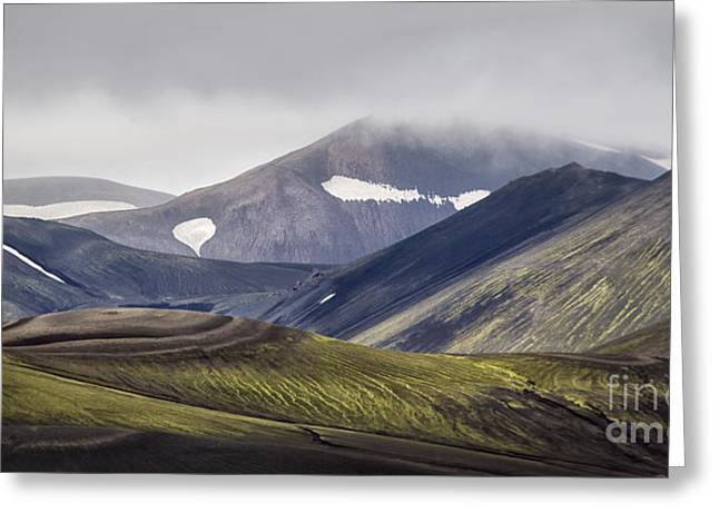 Icelandic Greeting Cards - Highlands Greeting Card by Evelina Kremsdorf