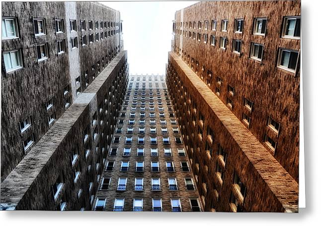 Highrise Digital Greeting Cards - Highrise at Rittenhouse Square Greeting Card by Bill Cannon