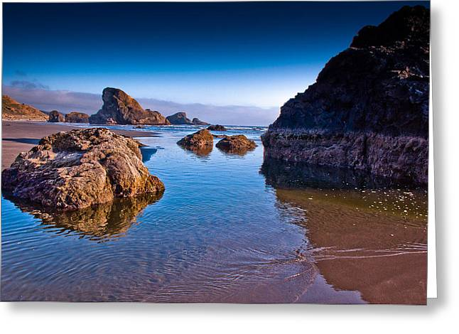 Lowtide Greeting Cards - Highway 101 California Coast Greeting Card by Puget  Exposure