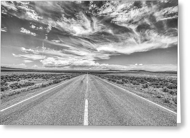 Road Travel Greeting Cards - Highway 64 Greeting Card by A Different Brian Photography