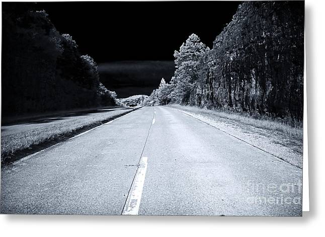 Missouri Artist Greeting Cards - Highway Greeting Card by John Rizzuto